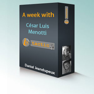 A week with César Luis Menotti