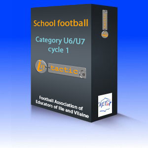 School football - category U6/U7 - Cycle 1 - AEF35